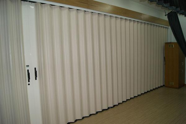 folding partition door